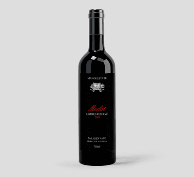 Buy 2009 Merlot Limited Reserve Wines Online